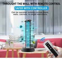 Multifuncti UVC CFL Ozone LED Light Ultraviolet Sterilizer Bacterial Kill Mite Home Lamp UV Lamp Quartz Germicidal Disinfection