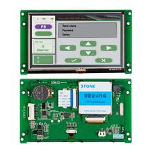 5.6 inch display tft lcd controller touch panel as hmi +plc industry solution стоимость