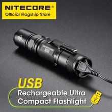 NITECORE ND01 вспышка светильник с сильным светильник usb Перезаряжаемый на открытом воздухе для верховой езды ночная рыбалка Супер яркий 18650 вспы...