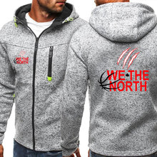 We The North Design Fashion Men's Zippper Jacket Casual Sports Hooded Pullover Autumn and Winter Long Sleeves Sweatshirts Coat цена 2017