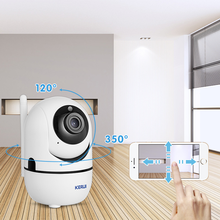 KERUI كاميرا Wifi السيارات تتبع 1080P IP كاميرا مراقبة شاشة أمن كاميرا داخلية لاسلكية تويا APP التحكم