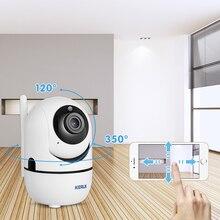 KERUI kamera Wifi otomatik izleme 1080P IP kamera gözetim güvenlik monitörü kablosuz kapalı kamera Tuya APP kontrolü