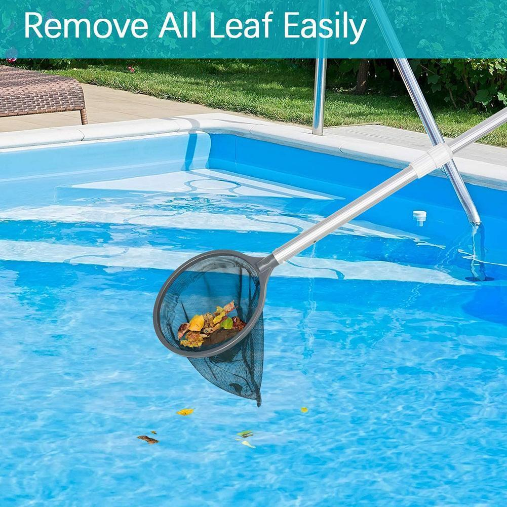 2021 Hot Selling Swimming Pool Cleaning Tool Swimming Pool Net Skimmer Mesh Rake Pool Cleaning Tool