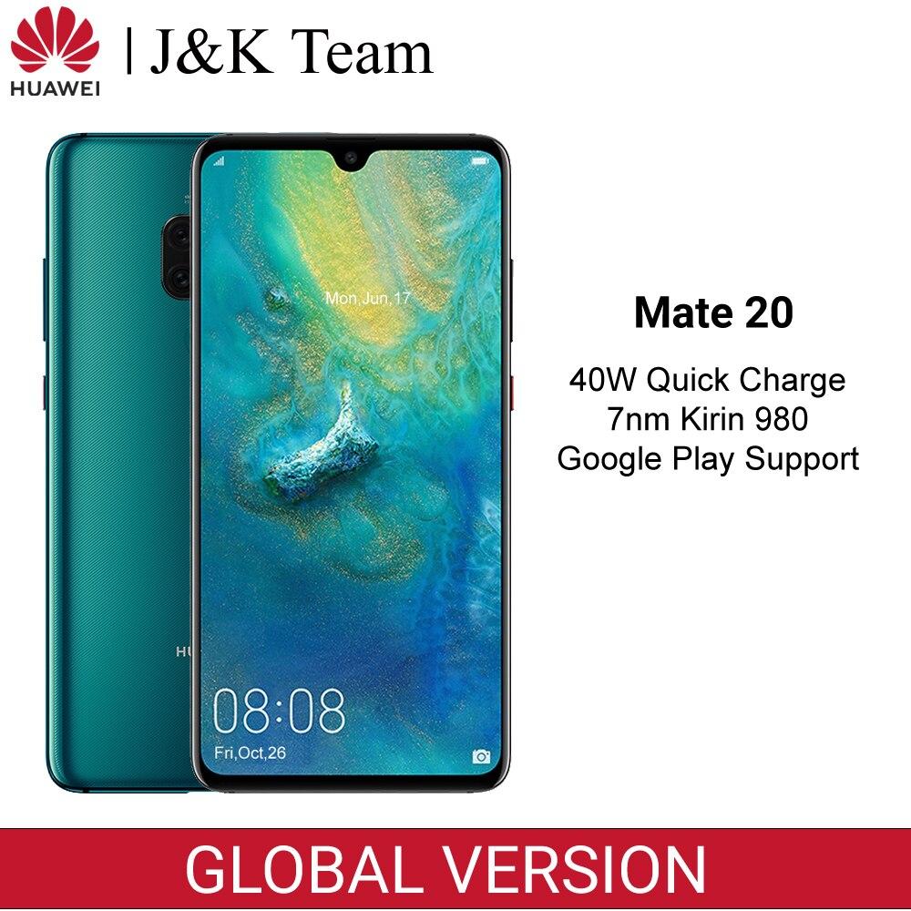 Huawei Mate 20 Global Version 6GB 128GB สมาร์ทโฟน NFC Android 9.0 Kirin 980 นิ้ว 6.53 นิ้วกล้องด้านหลังโทรศัพท์มือถือ 4000mAh-ใน โทรศัพท์มือถือ จาก โทรศัพท์มือถือและการสื่อสารระยะไกล บน AliExpress - 11.11_สิบเอ็ด สิบเอ็ดวันคนโสด 1