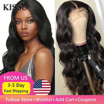 Body Wave Wig 4x4 Closure Indian Remy Long Cheap Human Hair For Black Women