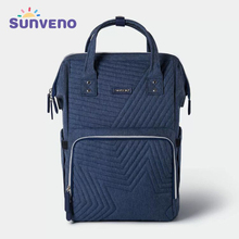 Sunveno Diaper Bag Backpack Maternity Baby Nappy Bag Stroller Organizer Baby Travel - Fashion ,Large Capacity,Insulation Pockets