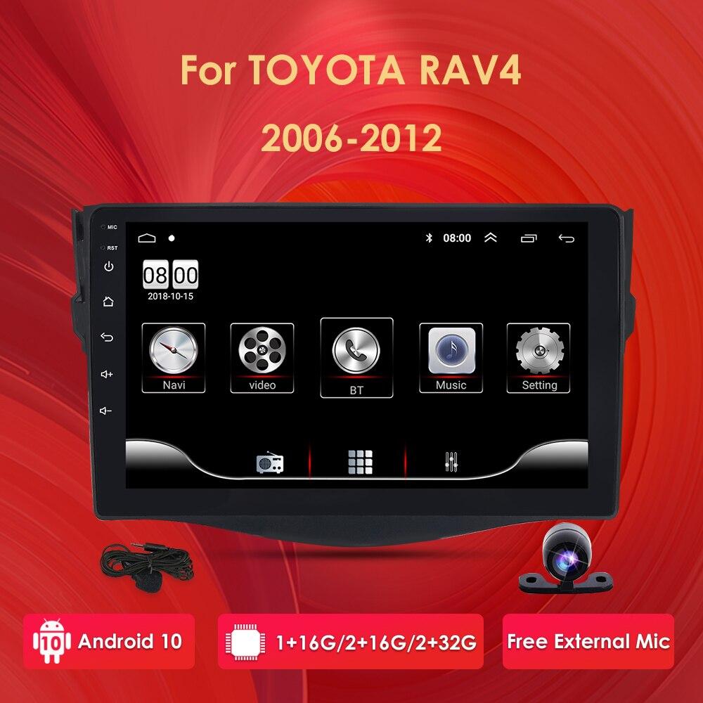 Для Toyota RAV4 Rav 4 2007 2008 2009 2010 2011 2Din автомобильный Android Радио мультимедийный плеер 2 Din Авторадио Видео GPS Navi WiFi 4G