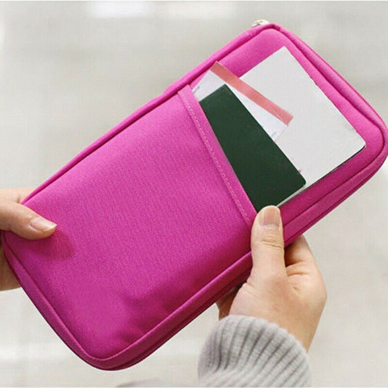 New Travel Storage Passport Cover Organizer Clutch Money Bag Multifunction Credit ID Holders Cash Wallet Business Card Holder