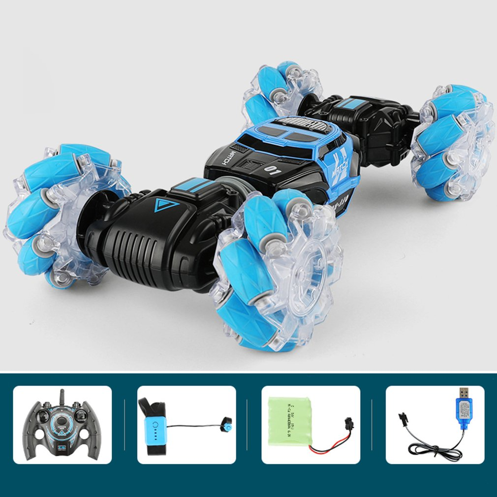 UD2196A 1:16 Stunt RC Car Double Side Twisting Vehicle Drift Car Driving Toy Remote Control Stunt RC Car Gift For Children