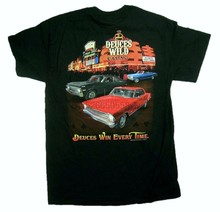 Chevrolet Deuces Wild Casino Chevy Novas Automobile Car Tee GM Chevrolet(China)