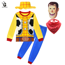 Woody Costumes Kids New Arrival Boys Cosplay Children Fancy Dress Halloween For Role Play Cowboy