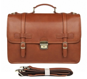 Image 2 - MAHEU Luxury Designer Leather Briefcase Mans Male Genuine Leather Business Bag Brown Leather Briefcase Bag For Laptop Notebooks