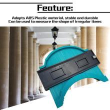 Plastic Irregular Shaper Profile Arc Ruler Gauge Duplicator Contour Scale Template Curvature Tiling Laminate General Tools