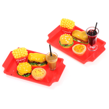 Miniature Dollhouse Cola Milk Kitchen Toy Cup-Accessories Fast-Food Cute for Tea 1set