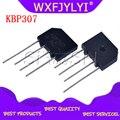 100 шт. KBP307 KBP 307 3A 700 V плоский мост выпрямитель Новый и оригинальный IC