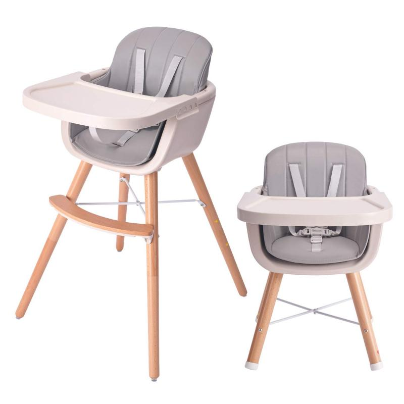Muti-function Baby High Chair Solid Wood Dining Table Chair Kid Feeding Chair Children Dining Chair Children Chairs Furniture