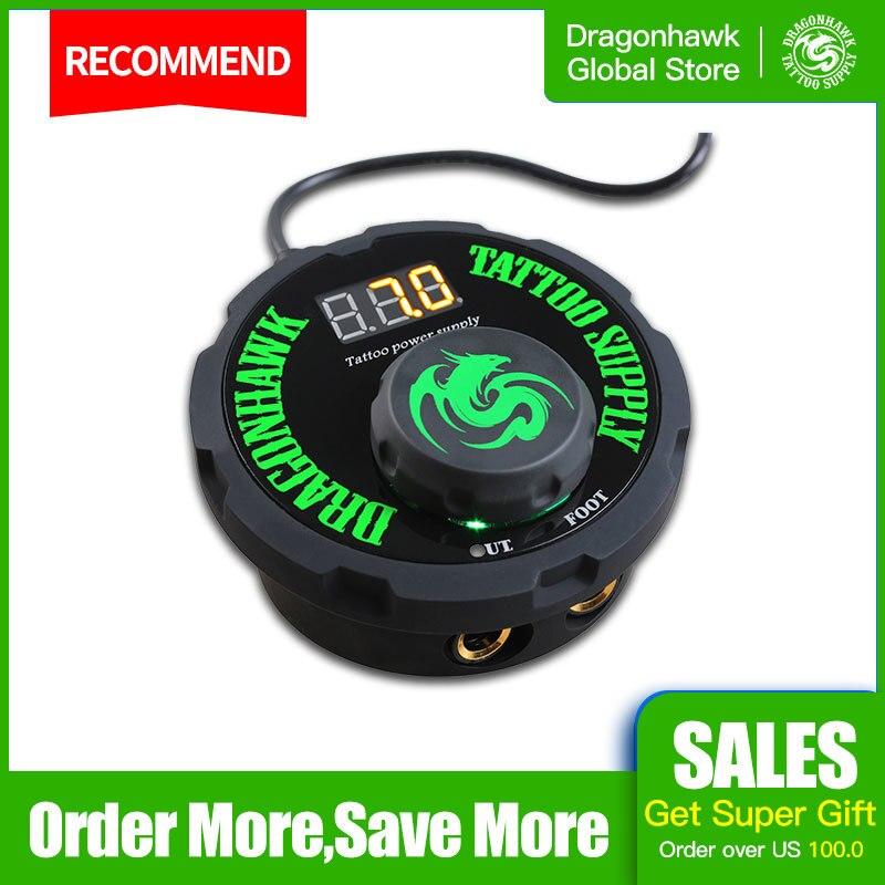 Двойной блок питания для тату-машинки Dragonhawk LCD