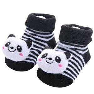 1 paar Baby Jungen Socken Baumwolle Baby Socken Gummi Anti Slip Junge Mädchen Boden Kinder Kleinkinder Socke Frühjahr Tier Infant neugeborenen Geschenk