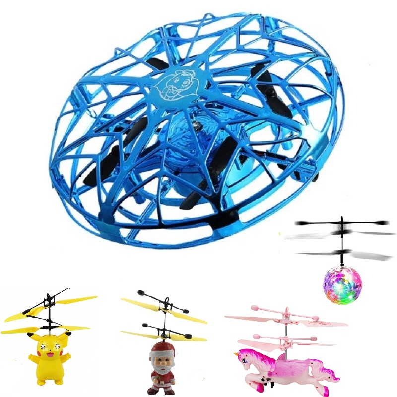 Flying Helicopter Mini Drone UFO RC Drone Flying Ball Infraed Induction Aircraft Quadcopter Upgrade Good Packag Hand UFO Ball