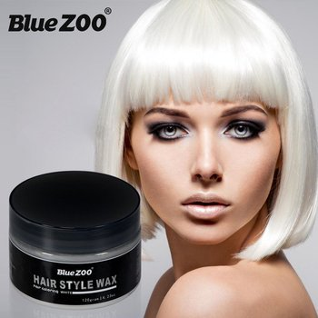 Health And Beauty Products Disposable Hair Wax Hair Dye Color Wax Hair Dye 120g Large Capacity Leather Bag
