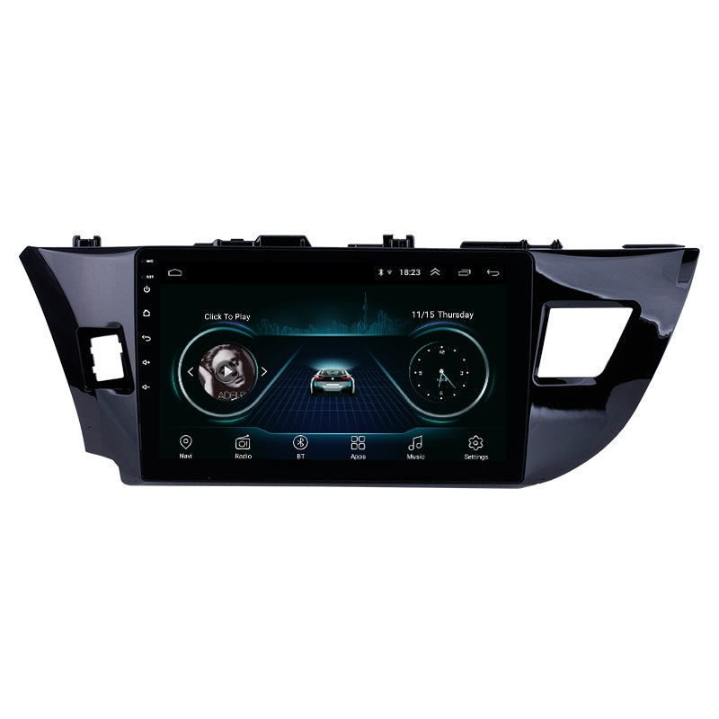 BF BINGFAN For Toyota Corolla Levin 2013 2014 2015 Android 9.1 AM/FM RDS Radio Bluetooth GPS Navigation System Car Radio Stereo