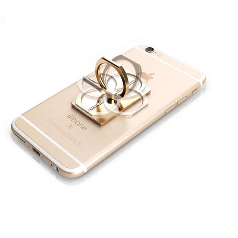 Luxury 360 Derajat Berdiri Telepon Umum Cincin Soket Dudukan untuk iPhone X 7 6 55 5S PLUS Samsung xiaomi Smartphone Tablet