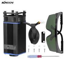 KKMOON-Mini cabezal láser portátil de escritorio, 30W, accesorio Universal de un solo brazo para máquina de grabado DIY, piezas para máquina de tallado