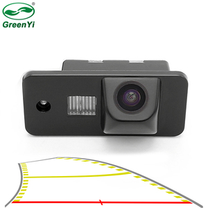 2020 New HD Vehicle Dynamic Trajectory Parking Line Car Reverse Backup Rear View Camera For Audi A3 A4 A6 A8 Q5 Q7 A6L