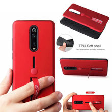 For OPPO F9 Pro F7 F5 F3 Plus Shockproof Case Hide Stand Holder Armor Case For OPPO F9 F3 R9S Finger Loop Strap Silicone Cover gangxun oppo f3 розовый