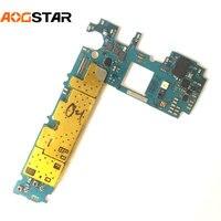 Aogstar trabalho bem placa-mãe desbloqueado oficial mainboad com chips placa lógica para samsung galaxy s6 edge plus g928 g928f