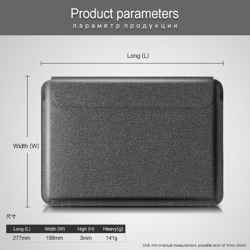 2020 For 2th Pro 3th 11 PU Case 2021 A2459 Leather For 2018 11 iPad Case Bag iPad A2460 Pouch Pro Protector Cover Tablet Sleeve