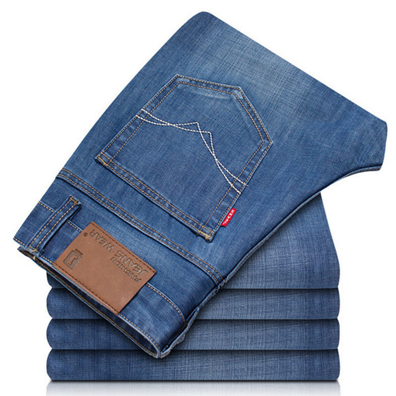 Men's Jeans Men'S Wear Pants Ultra-Thin Spring And Summer Pencil Pants Low Activity-to Spread The Goods Recruit