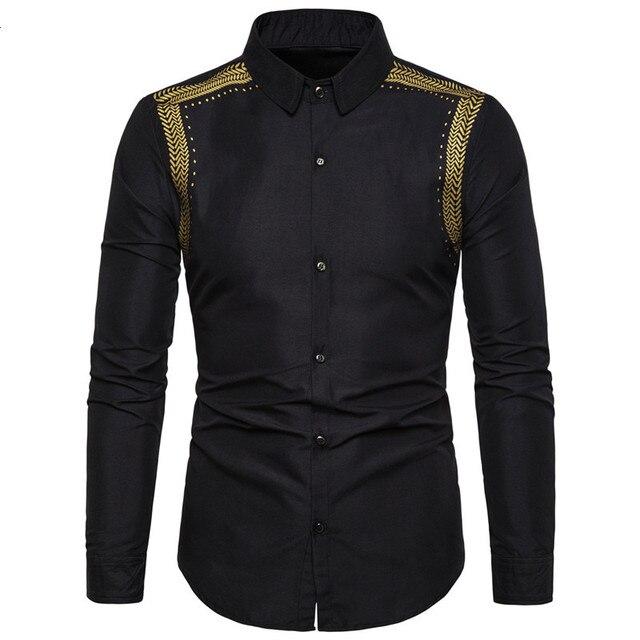 Bello Nero Camicette Uomini Musulmano Camicia di Modo Musulman Blousees Sottile A Maniche Lunghe Cardigan Camicia di Vestito Marocchino Vestiti Islamici