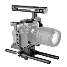 PULUZ – stabilisateur de caméra vidéo, avec poignée et tige de Rail, pour Nikon Z6 / Z7 (noir)
