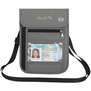 Travel Pouch Neck Wallet with RFID Blocking Passport Holder Travel Wallet Anti-Theft Passport Pouch Pack for Men Women