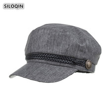 SILOQIN 2019 Summer Autumn New Ultra-thin Quick-drying Newsboy Caps Snapback Trend Lady Brand Women Leisure Motion Octagonal Cap