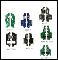 10/pcs USB Charging Dock Port Plug Jack Connector Charge Board Module Flex Cable For Huawei mate 7 8 9 pro mate 10 20 lite