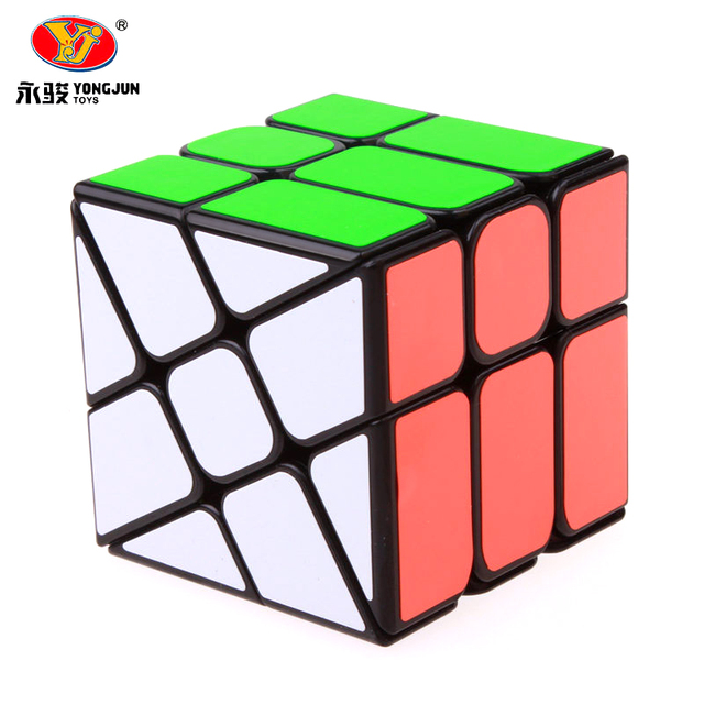 Yongjun YJ Wind Wheel Cubes 3x3x3 Magic Puzzle Cube Professional Speed Cube Learning Educational Toys For Kids Gift