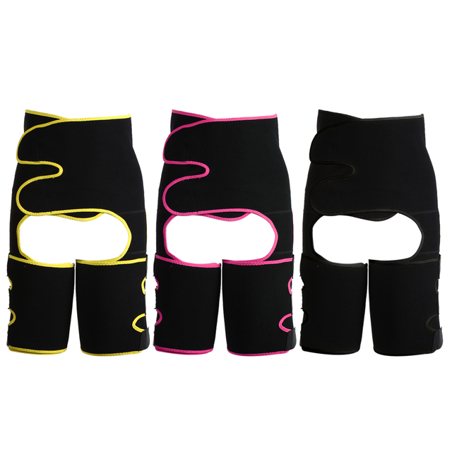 Slim Thigh Trimmer Leg Shaper Waist Trainer Slimming Belt Sweat Shapewear Body shaper Slimming Underwear Waist Shaper Pants 1