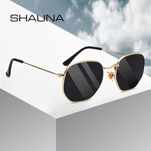 SHAUNA Retro Women Square Sunglasses Classic Men Glasses Fra