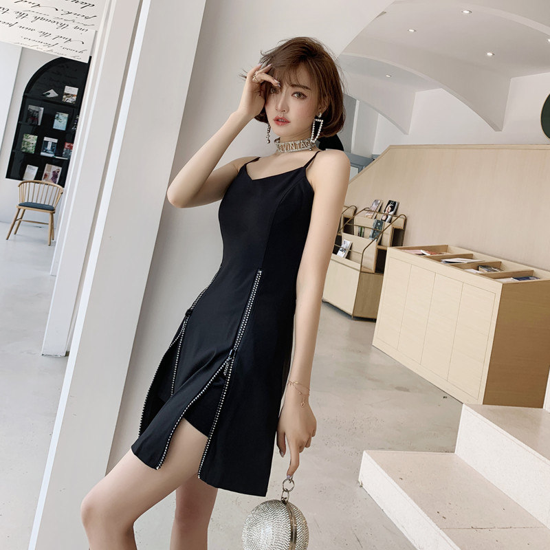 WOMEN'S Suit 2019 Summer New Products Online Celebrity Fashion Casual Medium-length Dungaree Shirt Slim Fit Slimming Short Two-P