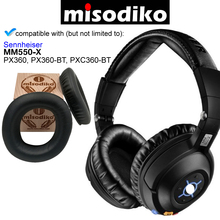Misodiko החלפת אוזן רפידות כריות ערכת עבור Sennheiser MM550 X, PX360, PXC360 BT, אוזניות תיקון חלקי Earpads