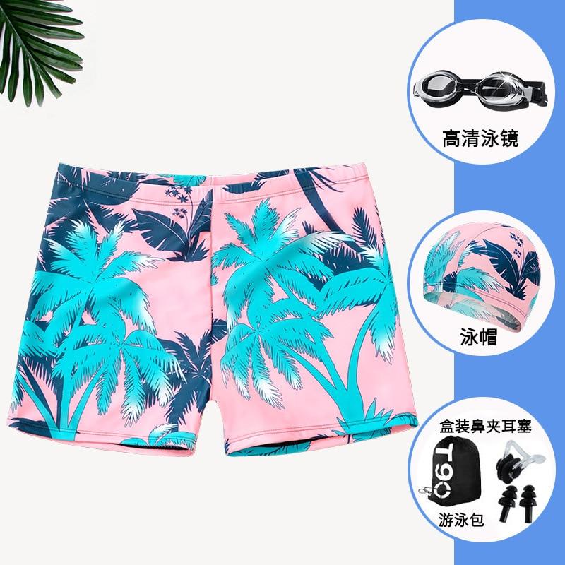 Men AussieBum Anti-Awkward Comfortable Men's Swimming Suit Set Plus-sized Loose-Fit Hot Springs Swimming Equipment