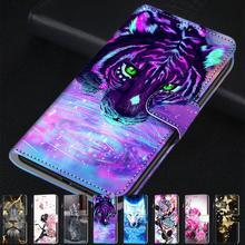 For Xiaomi Redmi Note 4 4X 3 8 Case TPU Cartoon PU Leather Flip Phone