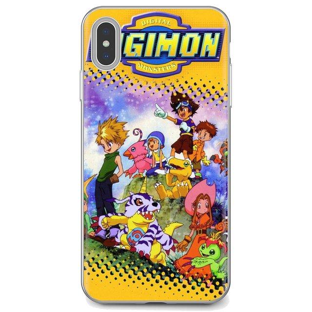 Do Samsung Galaxy S6 S10E S10 krawędzi Lite Plus core grand prime alfa J1 mini Digimon Adventure Tri japoński plakat anime miękkie etui