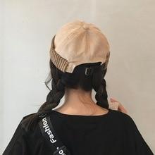 Winter Docker Sailor Cap for men women Brimless Hats Suede Thicken Hip Hop Beanie Skullcap Solid Color Autumn Hat
