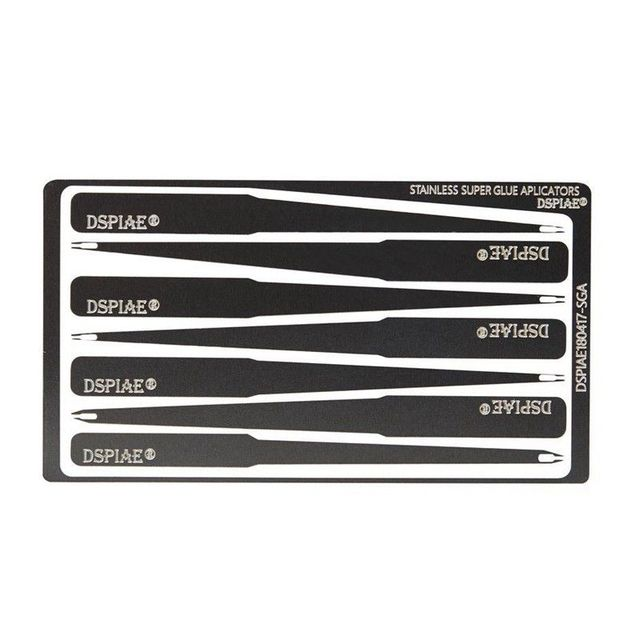 DSPIAE AT-GA Super Glue Auxiliary Applicator Model Assembly Tool Hobby Accessory