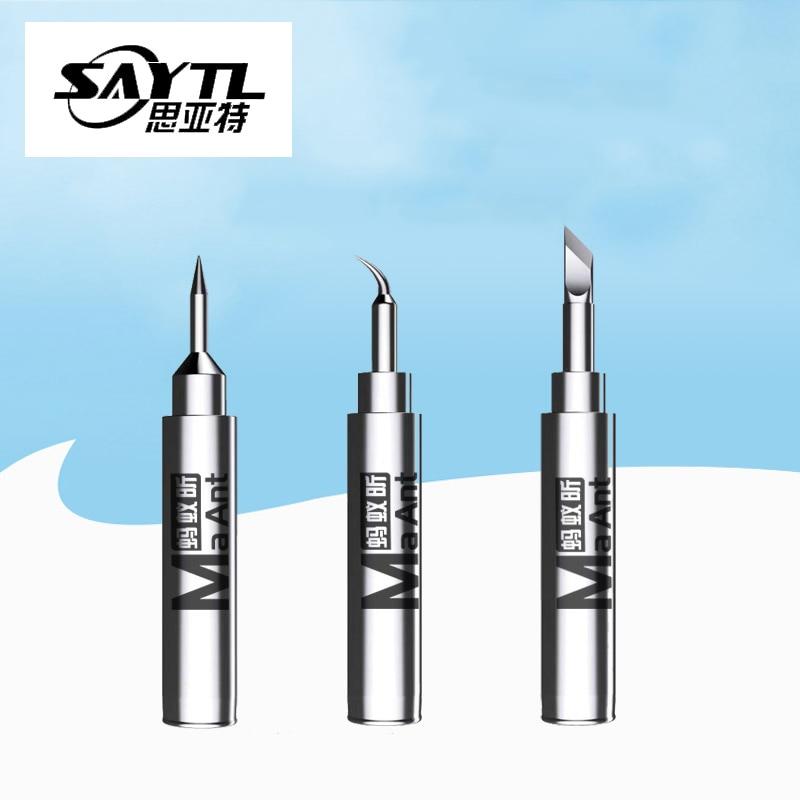 Soldering Iron Tips 900M-I IS SK  Solder Tip Tool Replacement For 936 Rework Station Soldering Bit Set Welding Tips Repair Tool