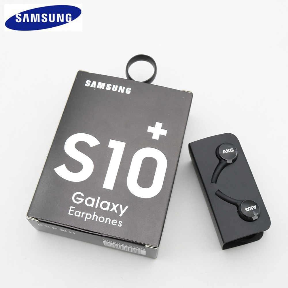 Do Samsung słuchawki IG955 3.5mm douszne z mikrofonem słuchawki przewodowe do huawei xiaomi Samsung Galaxy s10 s10 + s10e s9 S8 S7