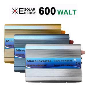 Сетевой инвертор 600 Вт, функция MPPT 22-60VDC вход 110 В 230VAC микро сетевой инвертор 22 в 60 в до 110 В 220 В